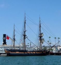 Your Complete Guide to British Themed Tourist Attractions Located in the United States: Master and Commander Ship Calls San Diego home