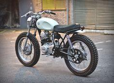 Yamaha Type 4 by Auto Fabrica Honda Motorcycles, Custom Motorcycles, Custom Bikes, Vintage Motorcycles, Tracker Motorcycle, Moto Bike, Motorcycle Helmet, Motorcycle Adventure, Motorcycle Travel