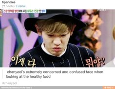 Just like a child looking at veggies when he wants meat. xD