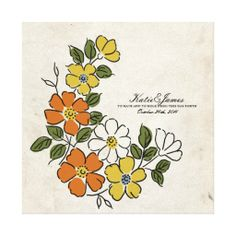 ==> reviews          	Vintage Orange and Yellow Floral Wedding Gallery Wrapped Canvas           	Vintage Orange and Yellow Floral Wedding Gallery Wrapped Canvas in each seller & make purchase online for cheap. Choose the best price and best promotion as you thing Secure Checkout you can trust Bu...Cleck link More >>> http://www.zazzle.com/vintage_orange_and_yellow_floral_wedding_canvas-192271142894003055?rf=238627982471231924&zbar=1&tc=terrest