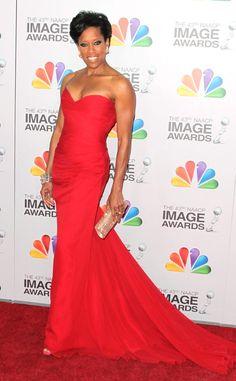 Regina King from 2015 Emmy Nominees' Best Looks  In Romona Keveza
