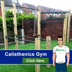 Details about garden calisthenics outdoor gym pull up for Portique traction exterieur
