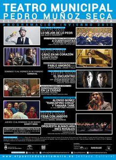 Teatro en pequeño formato, Flamenco y Música Clásica son las principales apuestas de la nueva programación de este espacio escénico, gestionado por la Concejalía de Cultura. Tampoco faltarán las funciones para toda la familia