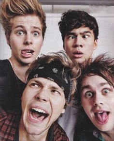 5 Seconds Of Summer - Luke Hemmings, Calum Hood, Ashton Irwin, and Michael Clifford