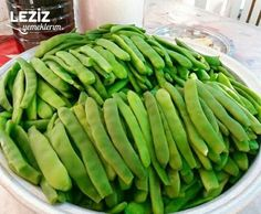 Fasulye Turşusu Pasta, Asparagus, Green Beans, Dips, Food And Drink, Vegetables, Can, Studs, Sauces