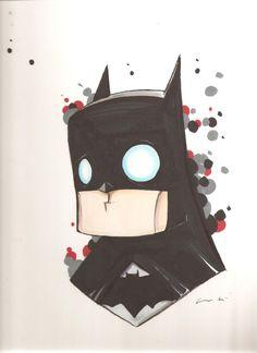 Batman Chris Uminga Comic Art