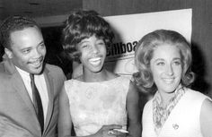 Quincy Jones, Millie Small (My Boy Lollipop) and Leslie Gore - ca 1964 Braided Updo, Braided Hairstyles, Leslie Gore, Quincy Jones, Goddess Braids, Beautiful Braids, Plaits, French Braid, Crochet Braids