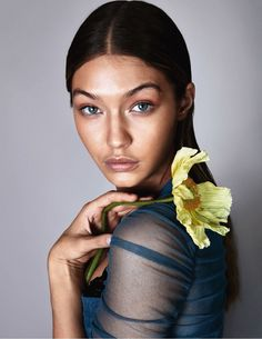 Photography: Camilla Akrans Styled by: Nicola Knels Hair: Franco Gobbi Makeup: Wendy Rowe Model: Gigi Hadid