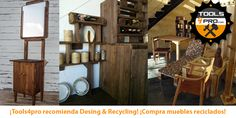 Desing & Recycling, muebles reciclados con palets