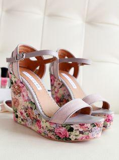 high-heeled shoes - http://zzkko.com/n156941-013-Summer-new-sweet-little-fresh-Pastoral-wild-waterproof-wedge-heel-sandals-high-heels.html $18.00