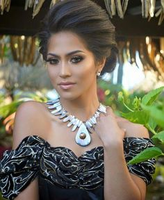 Miss Tonga 2015-2016    How beautiful is Miss Tonga 2015? Bethany, the scientist heroine of Uncharted Waters is Pacific Islander with jet-black hair and aqua eyes.