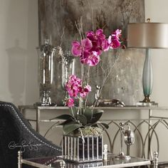 Uttermost Fuchsia Kaleama Orchids *** Details can be found by clicking on the image.