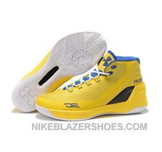 a32a6c4aab49 Under Armour Stephen Curry 3 Shoes Yellow Cheap