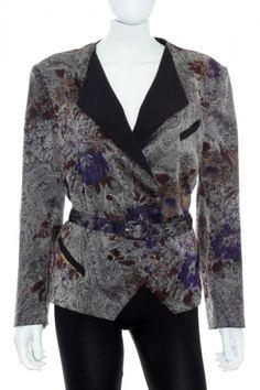 Chaqueta Mujer Vintage - Esbel estampado de segunda mano talla 50  www.ropasion.com c01fff34258e