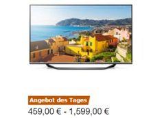 """Amazon: Drei LG-Fernseher für einen Tag stark reduziert https://www.discountfan.de/artikel/technik_und_haushalt/amazon-drei-lg-fernseher-fuer-einen-tag-stark-reduziert.php Als """"Angebot des Tages"""" sind heute bei Amazon drei Fernseher von LG zu reduzierten Preisen von 459 bis 1599 Euro zu haben. Die Rezensionen fallen sehr positiv aus. Amazon: Drei LG-Fernseher für einen Tag stark reduziert (Bild: Amazon.de) Die LG-Fernseher mit Rabatt gibt es nur für e... #Fe"""