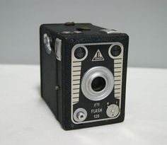 Vintage Tower Flash 120 All Metal Box Camera   eBay