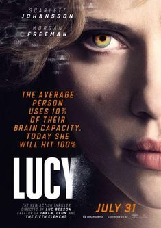 Lucy - film by Luc Besson with Scarlett Johansson and Morgan Freeman - an absolute impressive film - a must ! Film Movie, Film D'action, Bon Film, Movies 2014, All Movies, Sci Fi Movies, Series Movies, Movies Online, Watch Movies