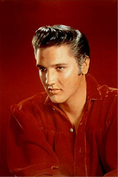 Publicity picture taken by R.C.A Victor in late august 1956 . Elvis used that shirt a month later for his Tupelo show ( 26-09-1956 ) and at his last appearence at the Ed Sullivan show in january 1957.