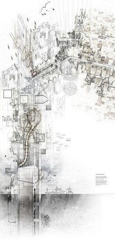 archisketchbook - architecture-sketchbook, a pool of architecture drawings, models and ideas - Michael Boyes New Lyonesse: Alephograph SSoA