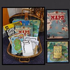 "Map basket from Rachel ("",)"