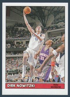 Dirk Nowitzki # 120 - 2005-06 Topps Baz Basketball