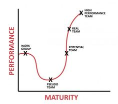 Where do you fall on the journey to High Performance Team? #GreatLeadersServe