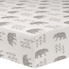 This all cotton cubby (gray/taupe) crib sheet features an adorable bear perfect for your woodland nursery. Ships in Hrs. Made in USA. Baby Boy Rooms, Baby Cribs, Baby Room, Woodland Baby Bedding, Crib Bedding Boy, Crib Sheets Boy, Baby Sheets, Grey Crib, Bear Nursery