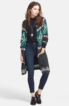 Free People Frosted Fair Isle Cardigan is on sale now for - 25 % !