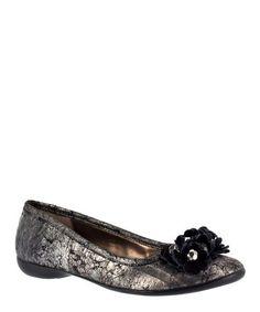 Jessica London - Mae Flat by Bella Vita Fashionable Plus Size Clothing, Plus Size Work, Plus Size Outfits, Take That, Glamour, Flats, Fashion Outfits, My Style, Metallic
