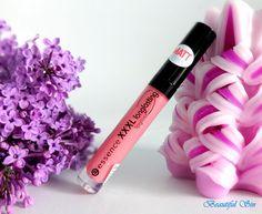 Essence XXXL longlasting lipgloss matt effect - Velvet Rose   Beautiful Sin