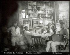 Colmado La Changa,Caguas,año 1936,Puerto Rico.