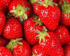 strawberries is tasty and high in saylic acid.  a great acne removing properties.