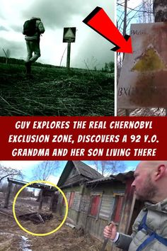 #Guy #Explores #Chernobyl #Exclusion #Zone #Discovers #Grandma #Son Outdoor Family Portraits, Family Portrait Poses, Family Picture Poses, Family Picture Outfits, Funny Animal Quotes, Funny Animal Videos, Funny Animal Pictures, Funny Photos, Funny Animals