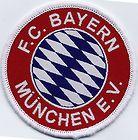 FC Bayern Munchen Munich Retro 80's / 90's Football Badge Patch 7cm Diameter