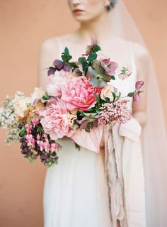 Photography : Kayla Barker Fine Art Photography Read More on SMP: http://www.stylemepretty.com/2016/07/21/terracotta-pink-take-center-stage-in-an-organic-wedding-inspo/