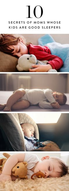 We all know it's a good night when the kids sleep through the whole night without a fight! Here are the secrets from moms whose kids are good sleepers.