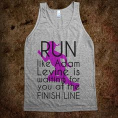 The ONLY other reason I would run.... LOL @Kellie Osborn @Jessica Knox