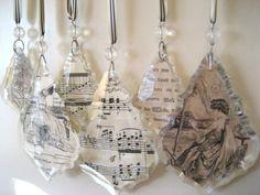 decopaug crystal chandelier ideas | Found on therobinandsparrow.blogspot.com