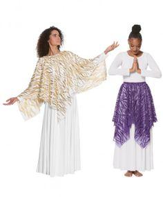 5c64be15e106 Eurotard 82768 Adult Passion of Faith Versatile Praise Overlay Garment Of  Praise, Worship Dance,