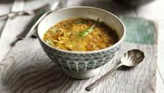 Tarka dal - Cheap, delicious and healthy - dal is the perfect comfort food supper. Curry Recipes, Veggie Recipes, Indian Food Recipes, Vegetarian Recipes, Cooking Recipes, Healthy Recipes, Ethnic Recipes, Cooking Time, Vegetarian Comfort Food