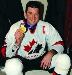 Lemieux-holds his gold medal at salt lake city 2002 Pens Hockey, Ice Hockey, Mario Lemieux, Lets Go Pens, Pittsburgh Penguins Hockey, Nhl Players, National Hockey League, World Of Sports, A Team