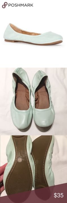 Lucky Brand emmie flats size 9.5 EUC, worn once! Lucky Brand Shoes Flats & Loafers