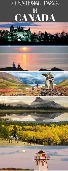 20 Canadian National Parks to explore in 2017. Canada is justifiably renowned for its national parks which introduce visitors to special ecosystems and, if Mother Nature obliges, glimpses of wildlife which call these habitats home.