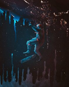 Cosmos, Universe, Photoshop, Space, Art, Display, Outer Space, Outer Space, Kunst