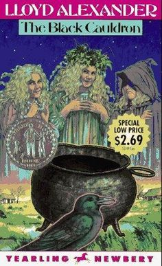 """The Black Cauldron"" av Lloyd Alexander"