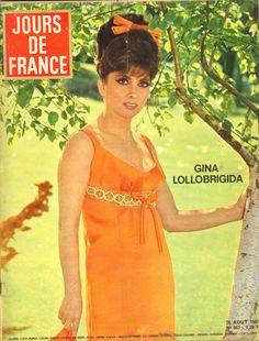 Jours DE France N°667 Gina Lollobrigida Collection Chanel Mylene Demongeot Paola | eBay