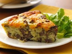 Impossibly Easy Cheeseburger Pie (Gluten Free) Recipe