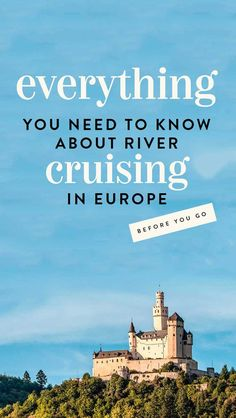 everything you need to know about river cruising in europe - the best european river cruise itineraries, which river cruise companies are best and what european river cruising is all about! also a detailed itinerary for rhine river cruise Best European River Cruises, River Cruises In Europe, Cruise Europe, Cruise Travel, Best River Cruises, Cruise Vacation, Viking Rhine River Cruise, Danube River Cruise, Viking River