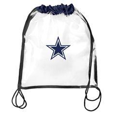Dallas Cowboys Clear Drawstring Backpack. Nfl Denver BroncosBroncos ... f25e6bb59