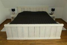 steigerhouten meubels - Steigerhouten bed